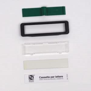 targhette per cassette postali ricambi nuova sezione per targhette portanome e serrature