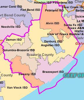 map of brazoria county schools in brazoria county