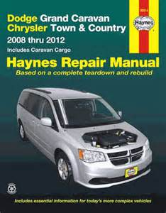 dodge grand caravan chrysler town amp country 2008 2012