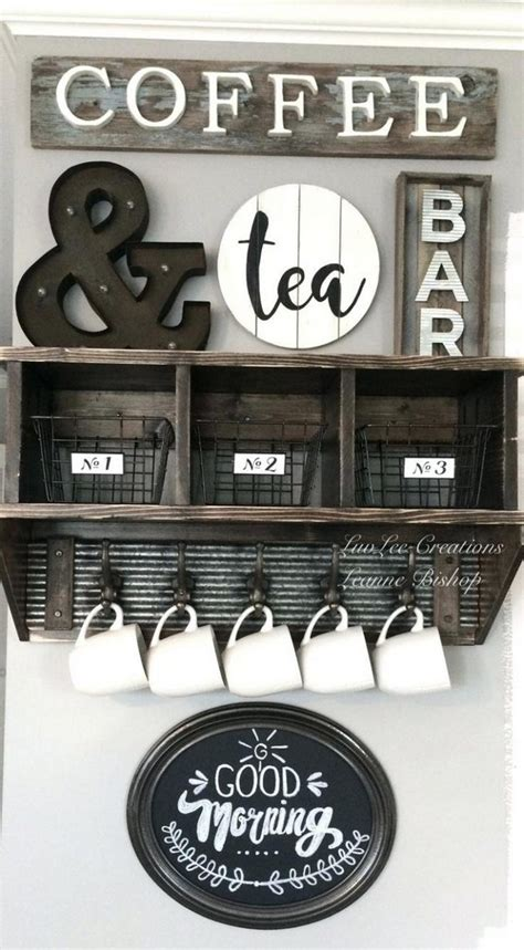 exceptional diy coffee bar ideas   cozy home