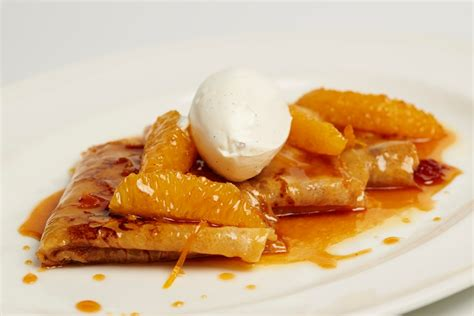 traditional crepes suzette recipe great british chefs