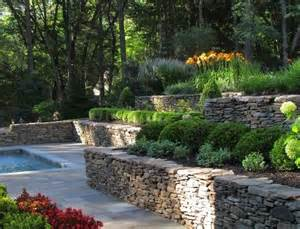 Rock Garden Walls Rock Retaining Walls Garden Wall