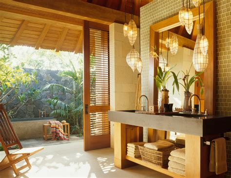 tropical bathroom lighting master bath