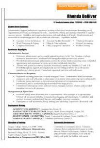 Exle Of A Functional Resume by Functional Resume Exle Sle