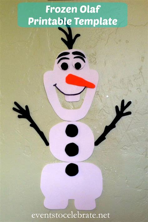 printable disney olaf olaf template cut out search results new calendar