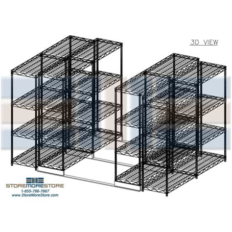 Wire Racks For Pantry by Rolling Pantry Wire Shelving For Can Goods Moving Industrial Wire Racks