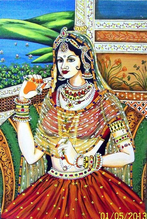 princess painting indian princess painting tallita tyagi touchtalent