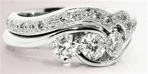 wedding bands with engagement ring matching wedding rings to engagement rings