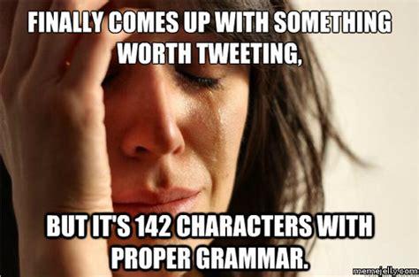 Twitter Meme - confessions of a social media addict lauren marinigh