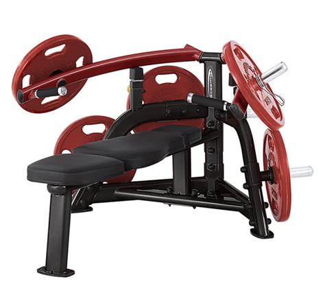 lever bench press machine steelflex plbp100 leverage bench press machine fitness