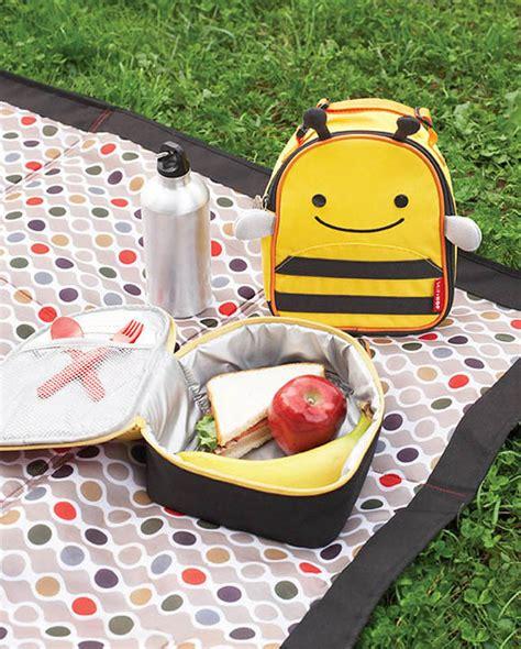 skip hop zoo bee lunch bag
