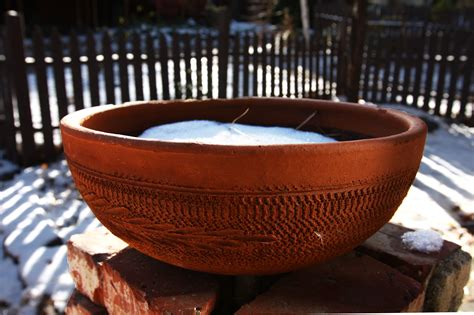 Clay Pots Planters by File Clay Planter In Winter 5212981166 Jpg Wikimedia