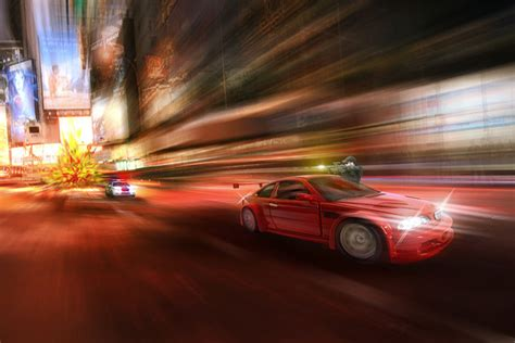 Car Photoshop Effects by Create An Adrenaline Filled Car