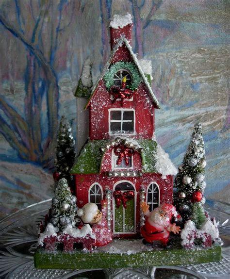 putz houses putz house fun christmas pinterest