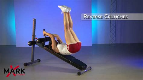ab exercises with bench xmark adjustable ab bench xm 7608 get a rock hard core