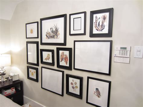 bedroom gallery wall gallery walls how i do them incessant decorator