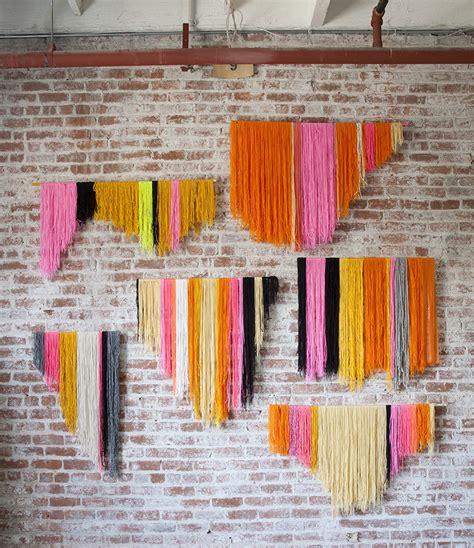 diy yarn yarn banner diy creativebug