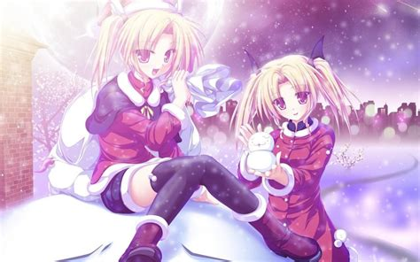 anime girl winter wallpaper winter walk wallpapers and images wallpapers pictures