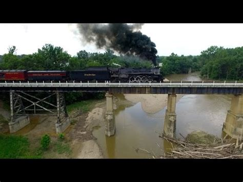nkp 765 at wild cat creek (drone video) youtube