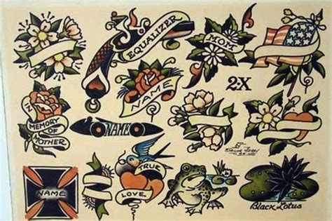 old school american tattoo designs 29 best images about flash on vintage