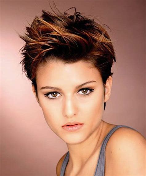 brown and blonde pixie cuts brown pixie short haircuts 2015 full dose