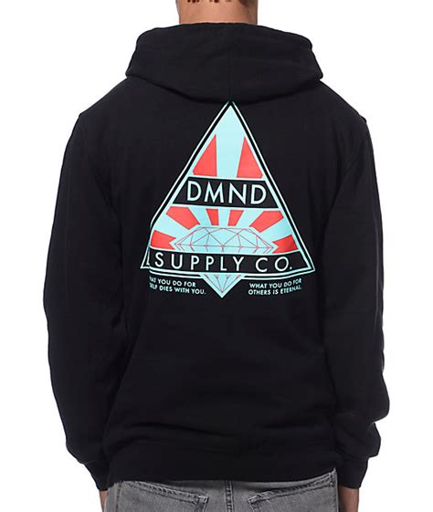Eternal Hoodie supply co eternal black pullover hoodie zumiez