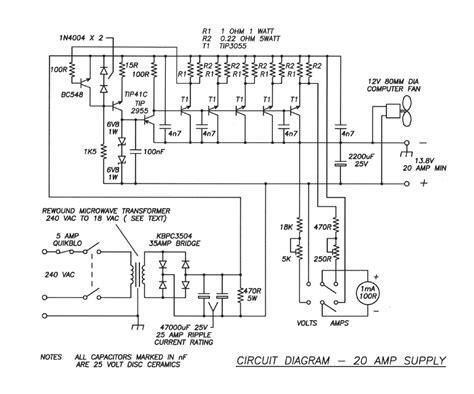 bleeder resistor in rectifier ssb20 power supply