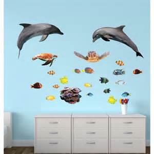 Giant Wall Stickers For Kids giant wall stickers with sharks sticker for kids