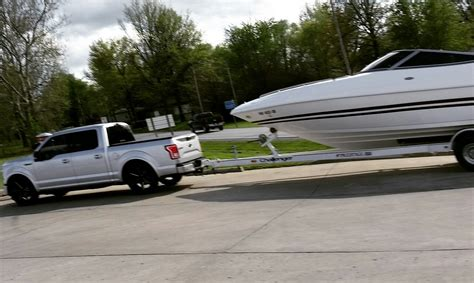 towing 30 foot boat quot lowered trucks are useless quot except when towing a 30
