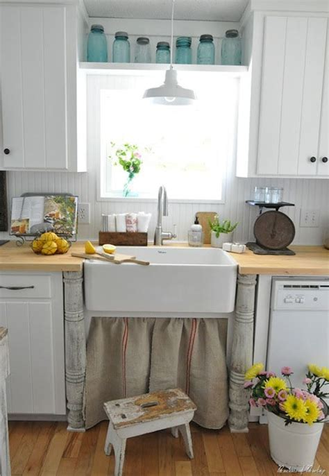 country kitchen sink ideas how to add farmhouse style to any house at home in love