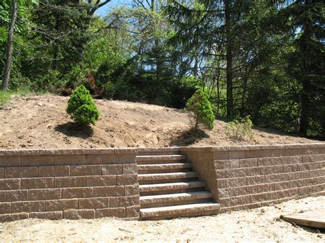 Landscape Retaining Wall Options Stone Work Tri Cities Wa Garden Retaining Wall Options