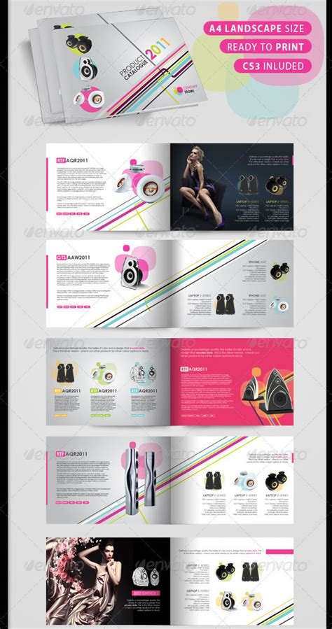 professional catalogue booklet design templates entheos