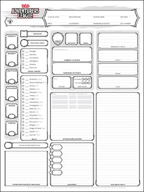 planner 5d inches best 25 dnd character sheet ideas on