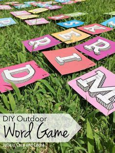 diy backyard scrabble great kid ideas on pinterest water blob catapult and pirate ships