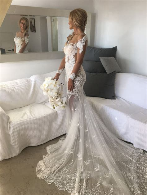 Nektaria Custom Made Bugatti Gown Wedding Dress   Wedd
