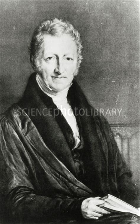 biography the english economist thomas robert malthus thomas malthus british economist stock image h413 0159