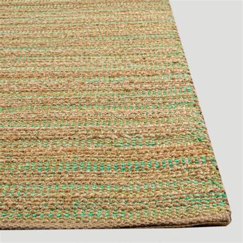 green jute rug green jute and cotton rug world market