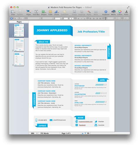 free modern resume template gfyork com
