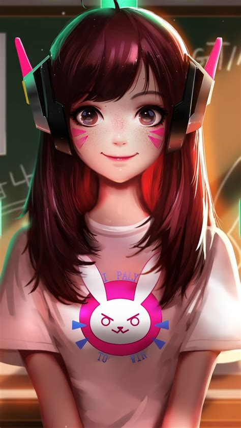wallpaper dva overwatch drummer artwork hd fantasy