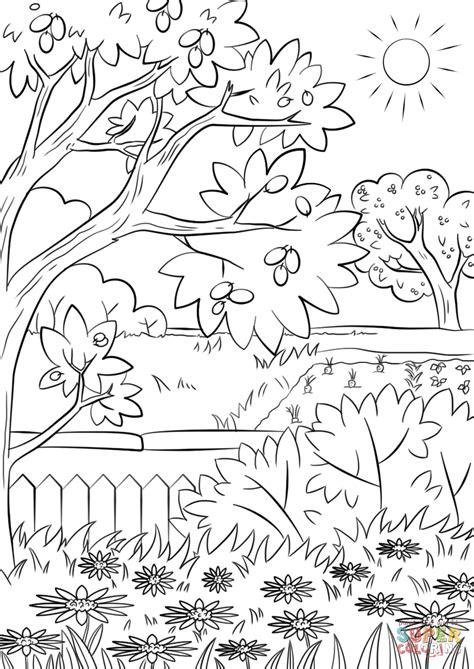 gratis libro e un jardin al norte para leer ahora dibujo de jard 237 n de verano para colorear dibujos para colorear imprimir gratis