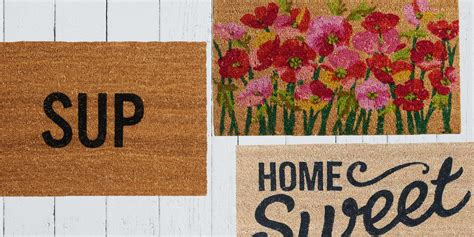 Home Is Where The Is Doormat by 17 Best Front Door And Entryway Mats In 2018 Chic