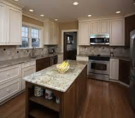 kitchen countertop and backsplash combinations kitchen island design ideas photos and descriptions