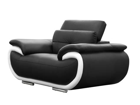 Sofa Emoticon sofas 3 1 plazas de piel bicolor negro y blanco smiley