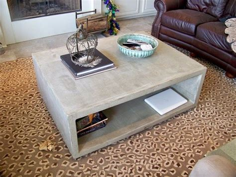 concrete outdoor coffee table best 20 concrete coffee table ideas on pinterest