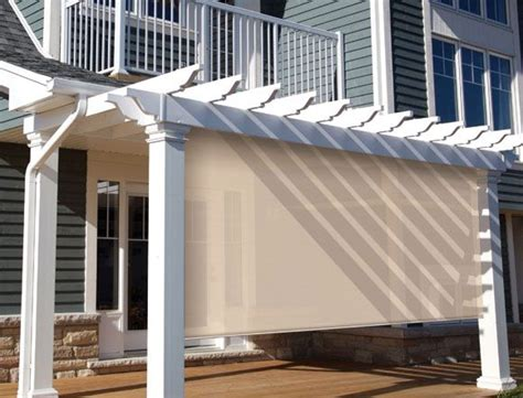Coolaroo Patio Shades by Coolaroo Shades For Screened In Porch Outdoors