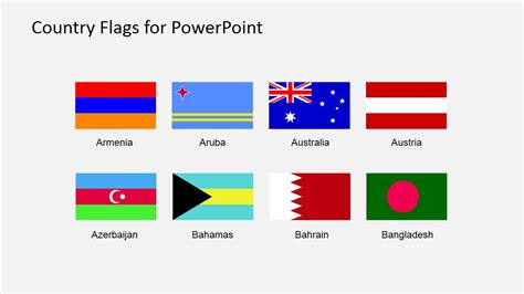 flags of the world ppt flags for map powerpoint presentation slidemodel