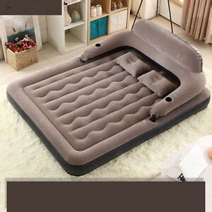 air bednew size air mattress raised bed built in serta hea ebay