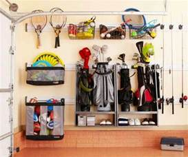 Garage Sports Storage Ideas Golf Bag Sports Equipment Storage Garage Storage Ideas