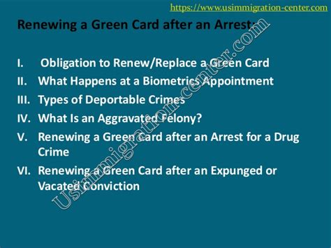 Renew Green Card Criminal Record 4 Reasons Why Your Green Card Renewal Application Get Denied