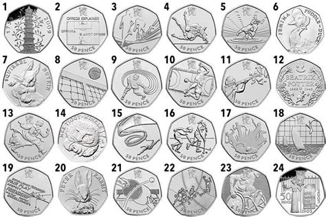 printable quarter collector the pints are on you if you have one of these rare 50p